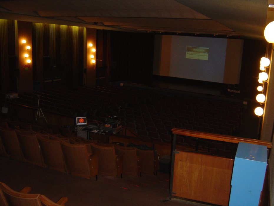 Microsoft Security Roadshow 2006 in Treviso. This is an image of the huge 700-seats conference room